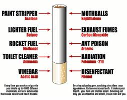 Chemicals Contained in Cigarettes that Start with the Letter D.